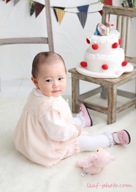 ベビーフォト 赤ちゃん1才のお誕生日