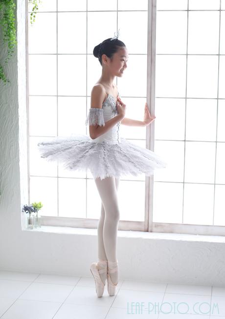 バレエ 記念写真 フォトスタジオリーフ