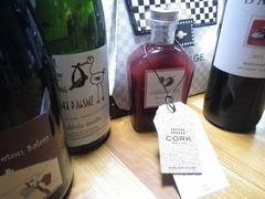 [写真]コルク銀座店から届いた5種類のワクワクワイン