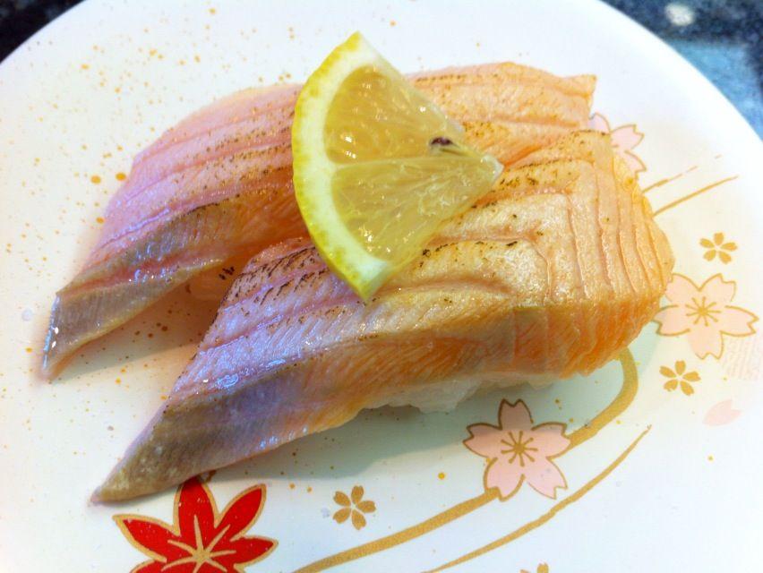 三崎港1炙りサーモン