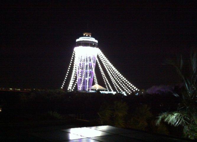 2015江ノ島灯台ライトアップ