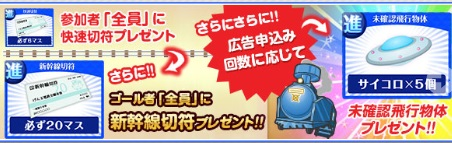 げん玉電鉄リニューアルキャンペーン・ラスト