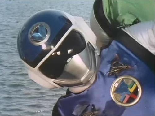 戦隊 フラッシュマン スーツ破壊 ヤラレ