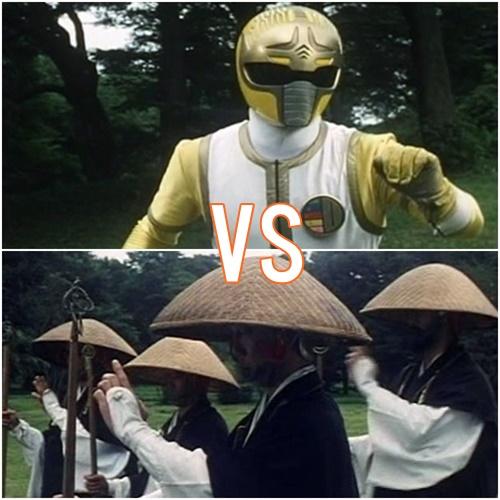 ダイレンジャー キリンレンジャー ヤラレ ピンチ 戦隊 ヒーロー 戦士
