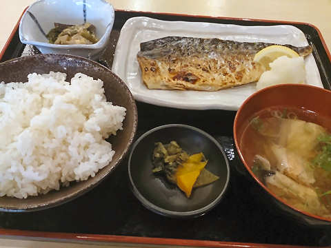サバ塩焼き定食@満マル