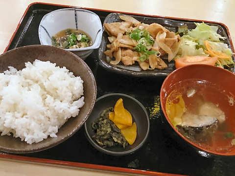 生姜焼き定食@満マル