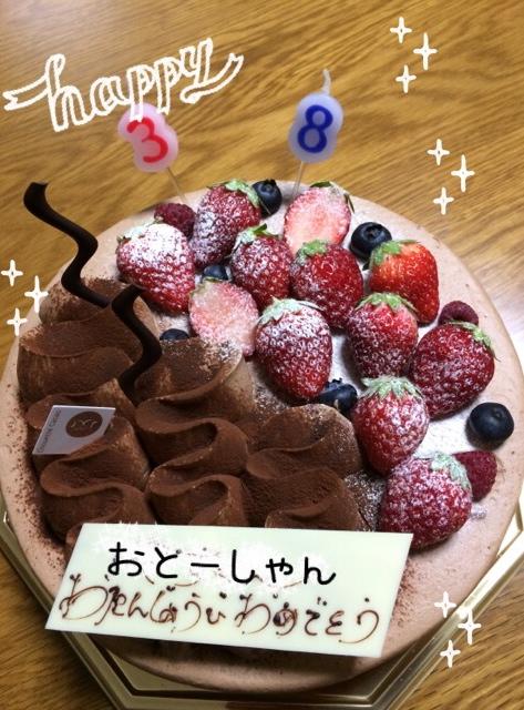 シュエットカカオお誕生日ケーキ